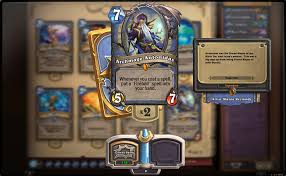 Archmage Antonidas - Legendary Card For Mages In Hearthstone