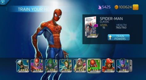 Marvel Puzzle Quest - Amazing Spider-Man - Spidey
