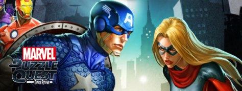 Marvel Puzzle Quest: Captain America VS. Moonstone